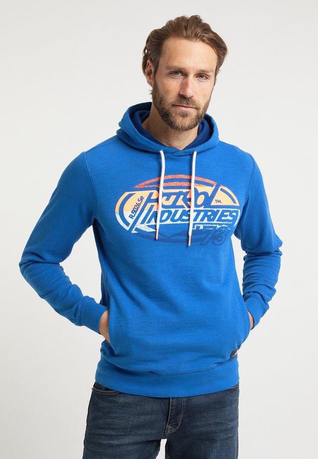 Jersey con capucha - daytona blue