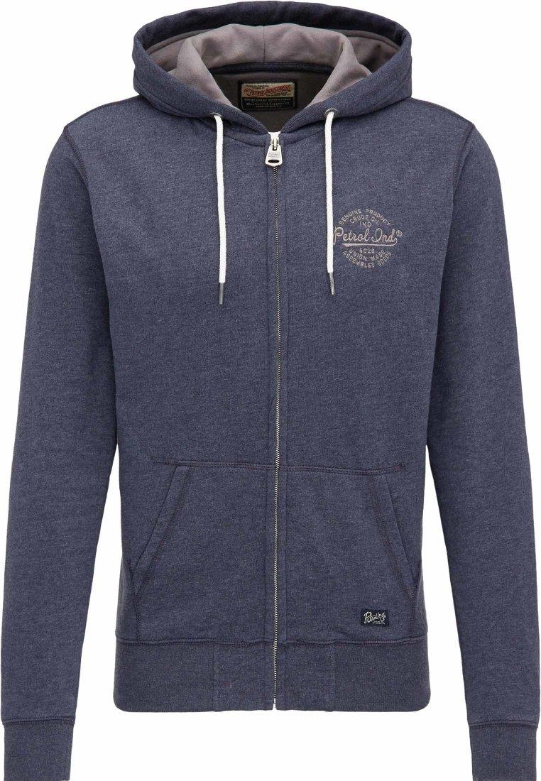 Petrol Industries Zip-up hoodie - dark blue