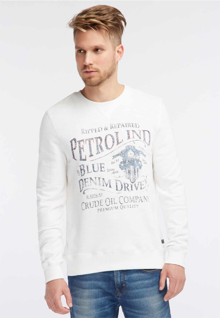 Industries SweatshirtAntique Petrol Petrol White Industries SweatshirtAntique ZOPkiuTX