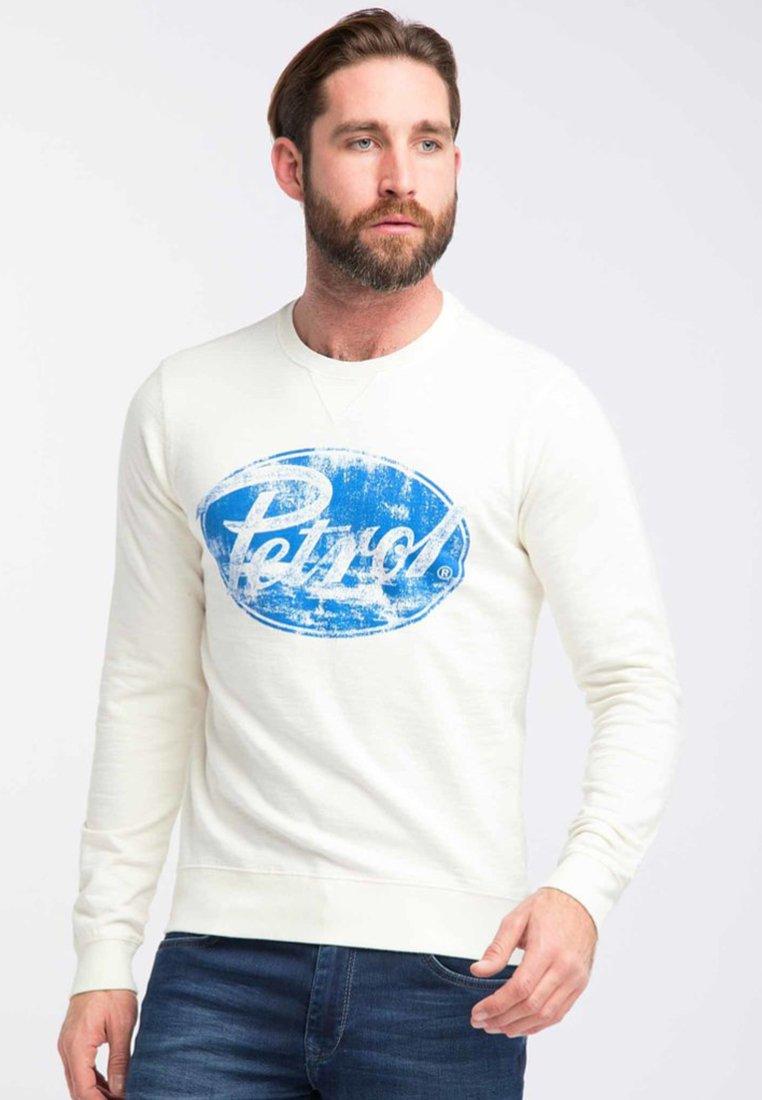 Petrol Industries - Sweatshirt - chalk white