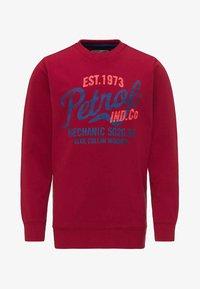 Petrol Industries - Sweatshirt - fire red - 0