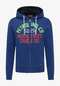 Petrol Industries - Hoodie met rits - capri - 4