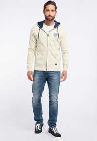 Petrol Industries - veste en sweat zippée - white - 1