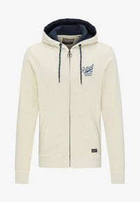Petrol Industries - veste en sweat zippée - white - 4