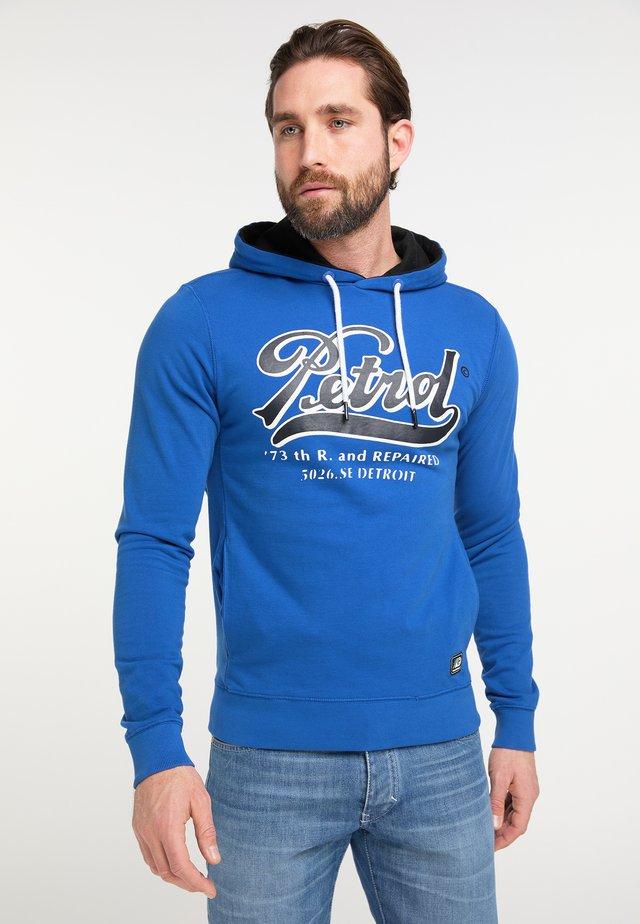Jersey con capucha - blue