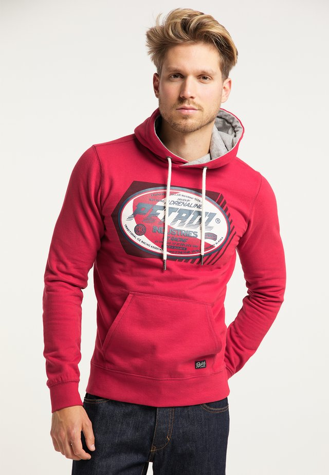 SWEATER - Jersey con capucha - fire red