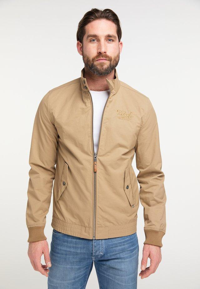 Summer jacket - brown