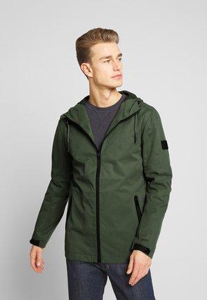 Summer jacket - green stone
