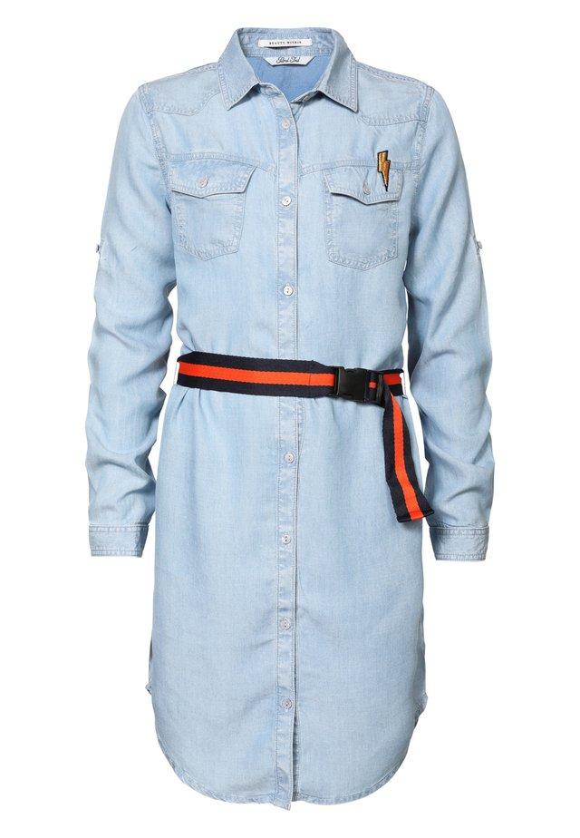 SOMMERKLEID - Robe en jean - faded stone