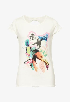 T-shirts print - chalk white