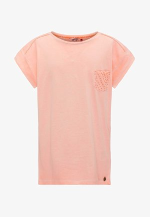 Camiseta estampada - fiery coral