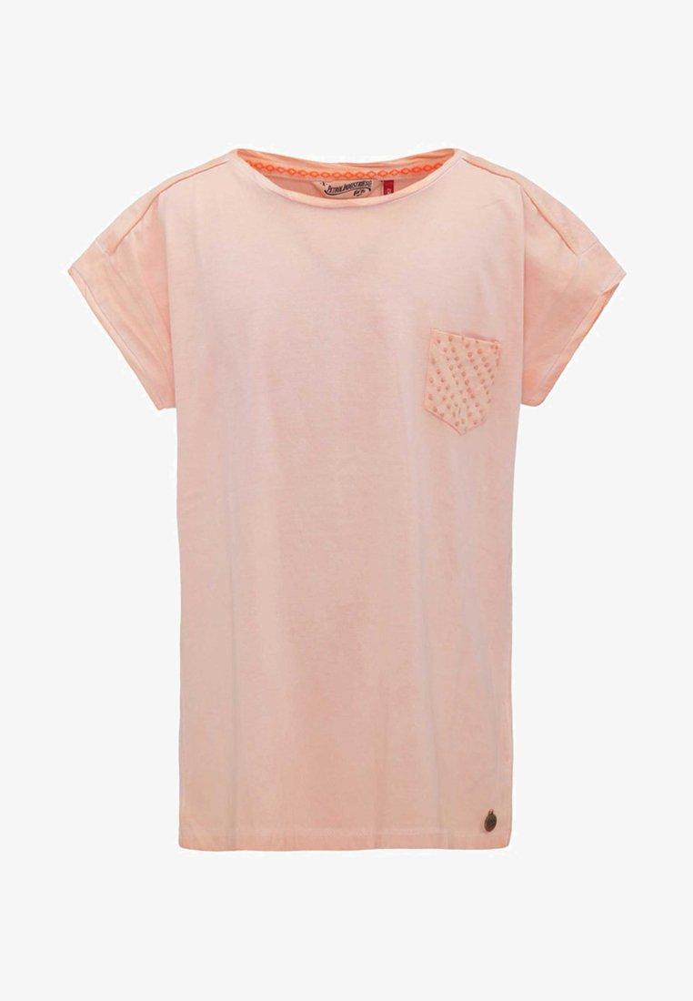 Petrol Industries - Print T-shirt - peach nectar