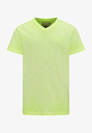 T-shirt basic - safety yellow