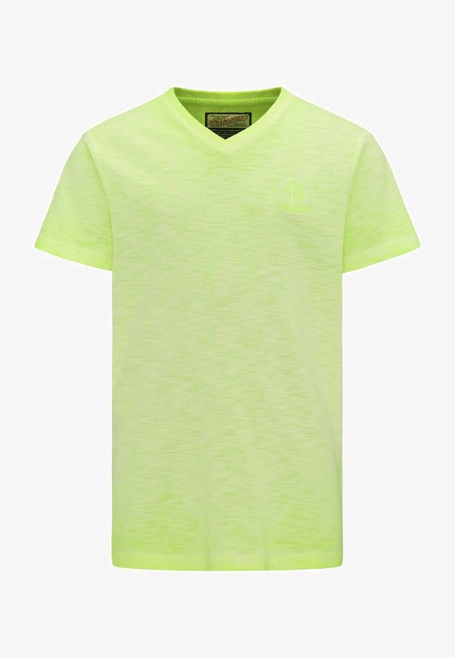 Camiseta básica - safety yellow