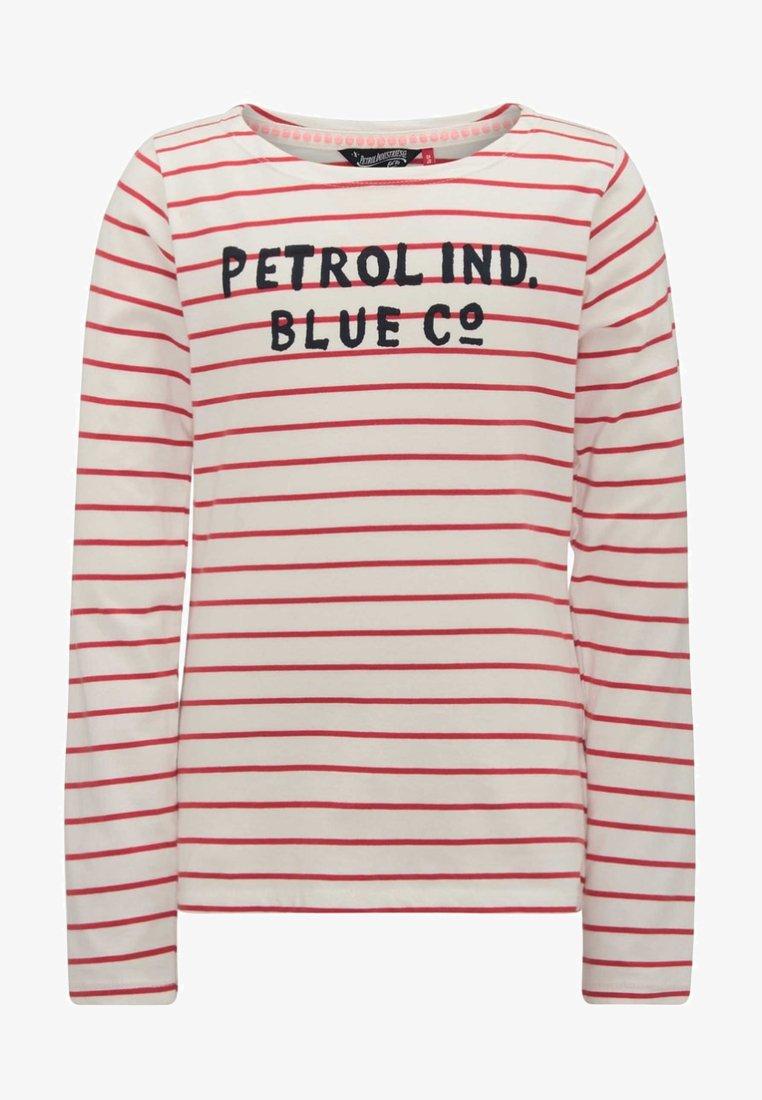 Petrol Industries - Langærmede T-shirts - frozen red