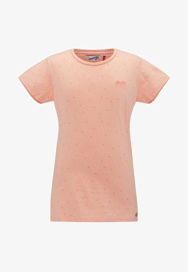 Camiseta estampada - peach nectar
