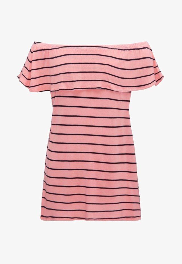 Camiseta estampada - bright pink