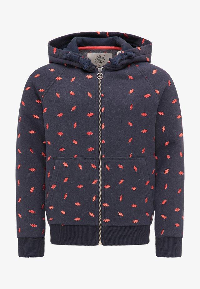 Zip-up hoodie - deep navy