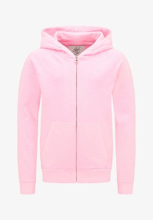 Zip-up hoodie - cotton candy