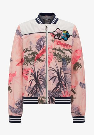 Bomber Jacket - rose/multi-coloured