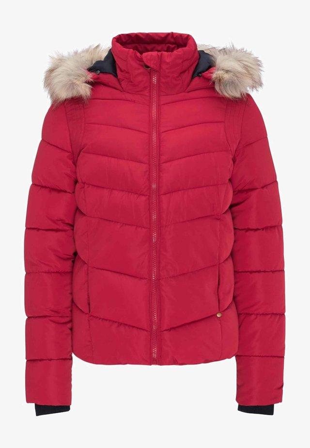 Winterjacke - fire red