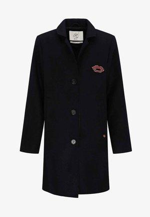 Classic coat - black navy