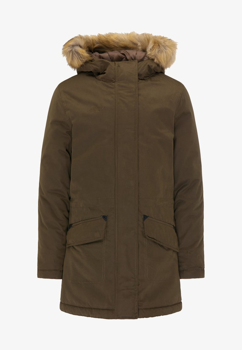 Petrol Industries - Winter coat - deep tobacco