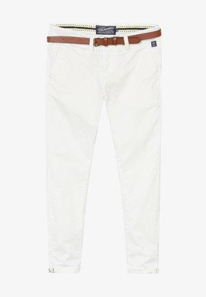 Chino kalhoty - chalk white