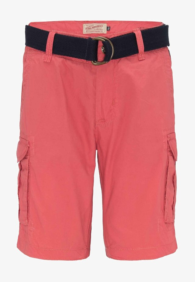 Cargo trousers - red