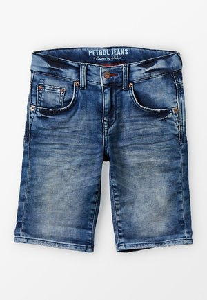 Denim shorts - deep blue sea