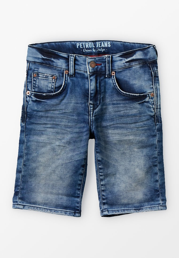 Petrol Industries - Jeans Shorts - deep blue sea