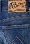 Petrol Industries - Jeans Shorts - dark blue