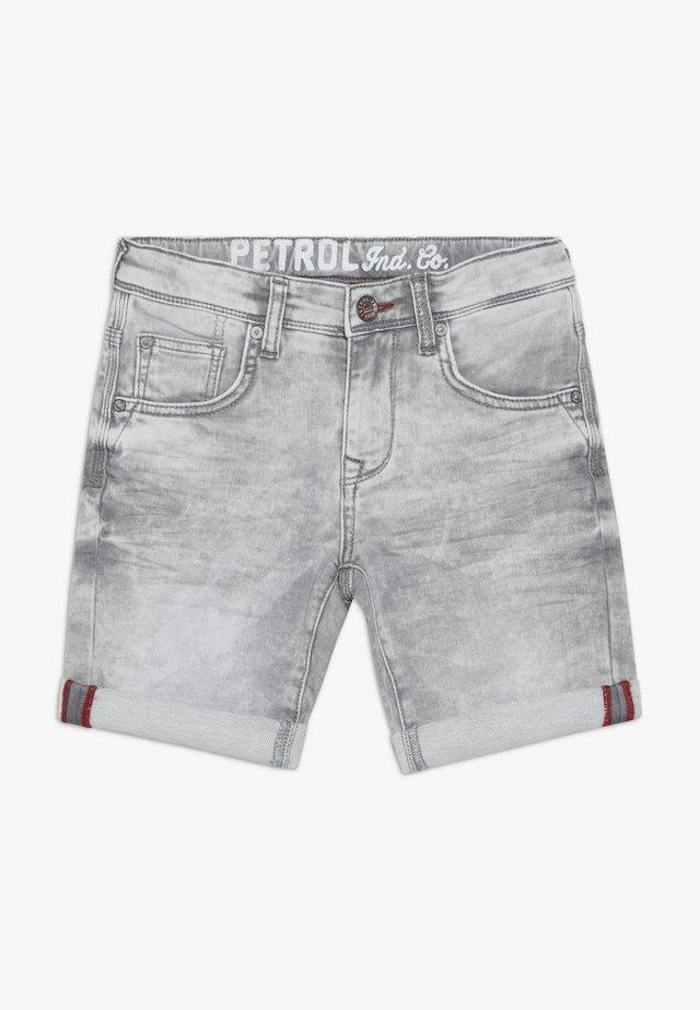 Jeans Shorts - dusty silver