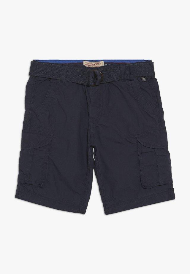 Cargo trousers - deep navy