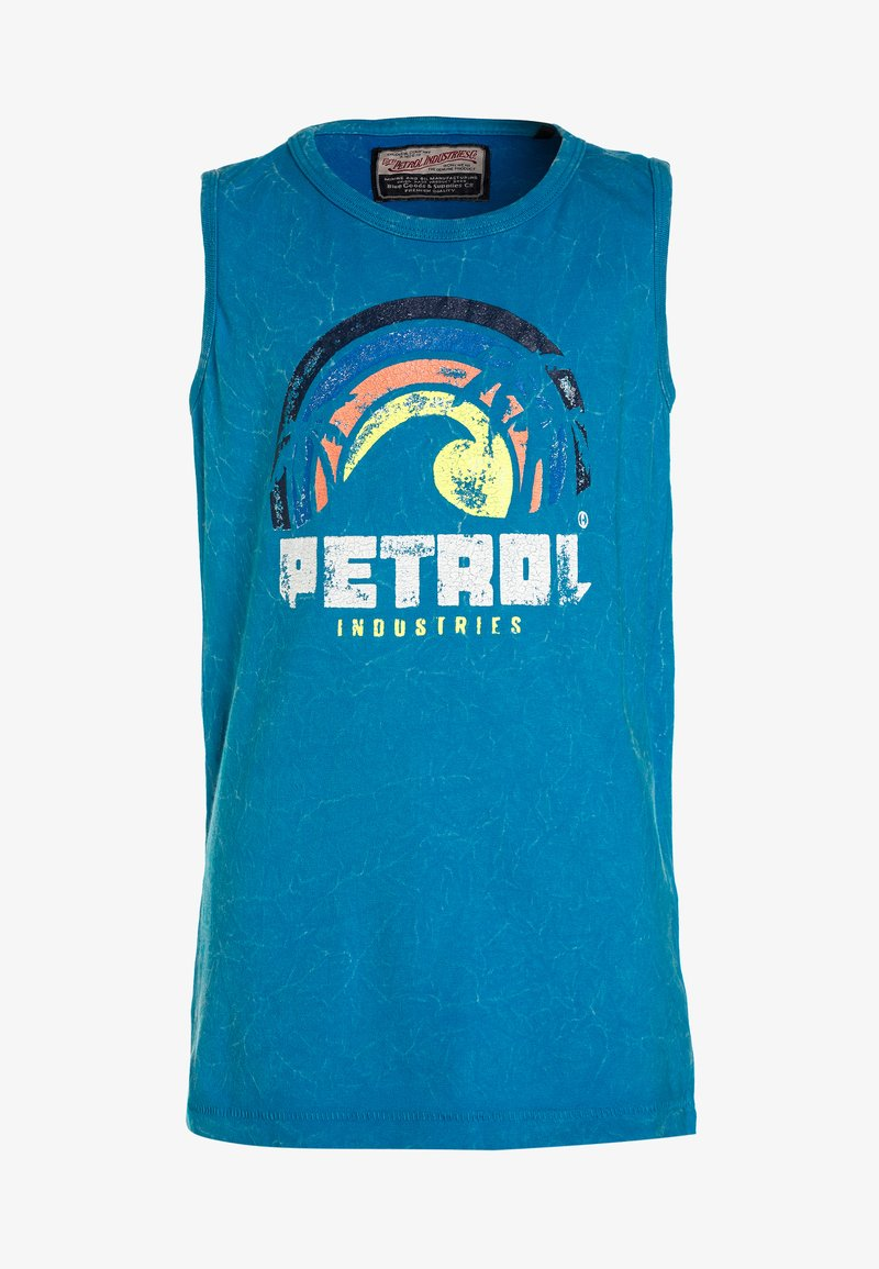 Petrol Industries - SINGLET R-NECK - Toppe - atomic blue