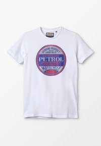 Petrol Industries - T-shirt con stampa - bright white - 0