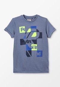 Petrol Industries - T-shirt z nadrukiem - stone blue - 0