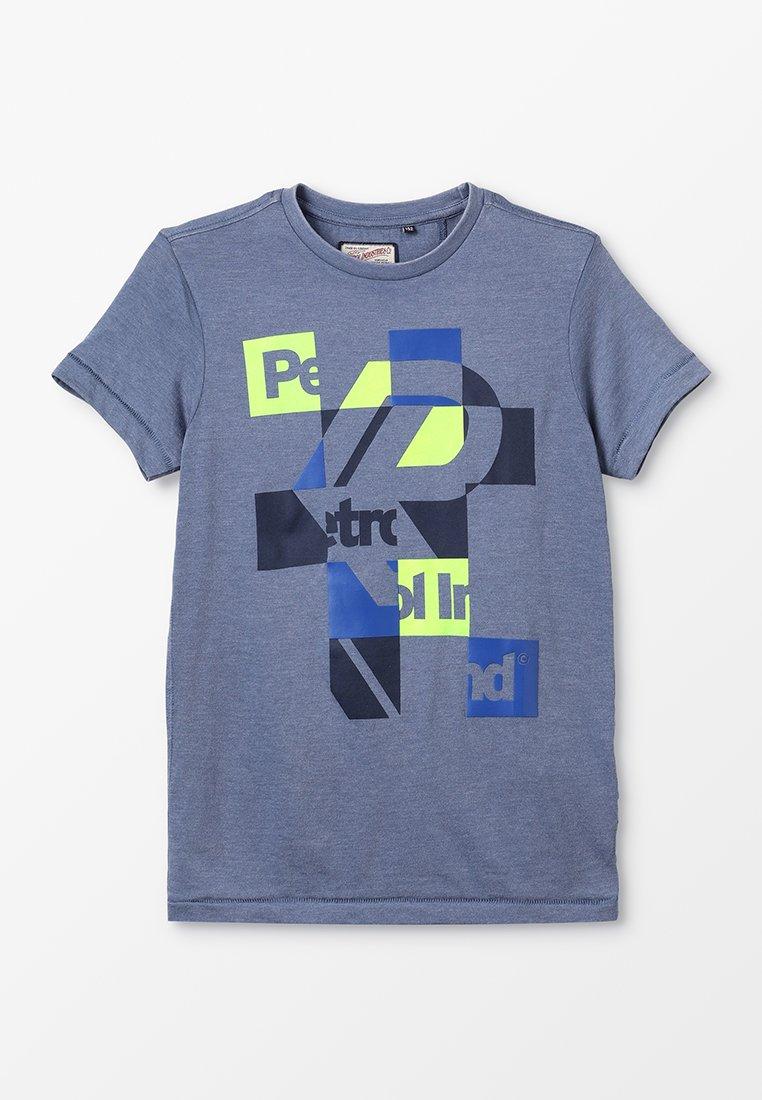 Petrol Industries - T-shirt z nadrukiem - stone blue