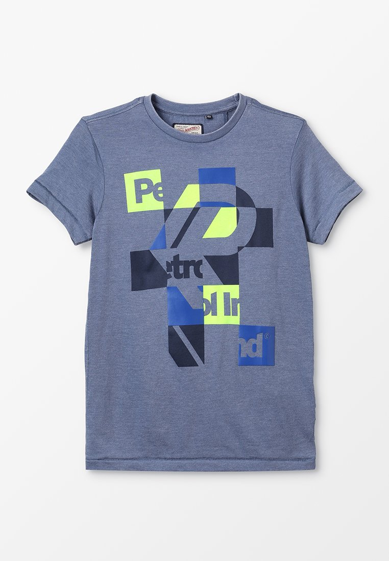 Petrol Industries - T-shirt con stampa - stone blue