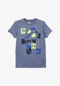 Petrol Industries - T-shirt z nadrukiem - stone blue - 2
