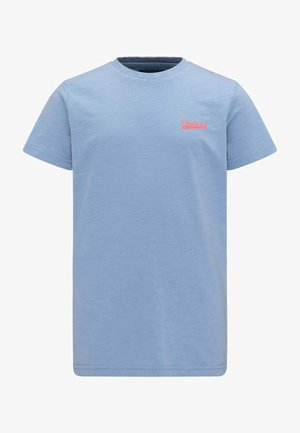 T-shirt - bas - steel blue