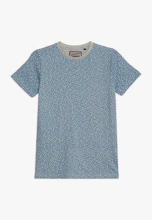 T-Shirt print - electric blue