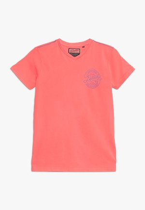 T-shirt con stampa - fiery coral