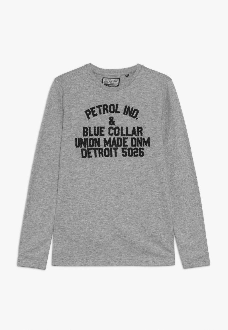 Petrol Industries - Camiseta de manga larga - light grey