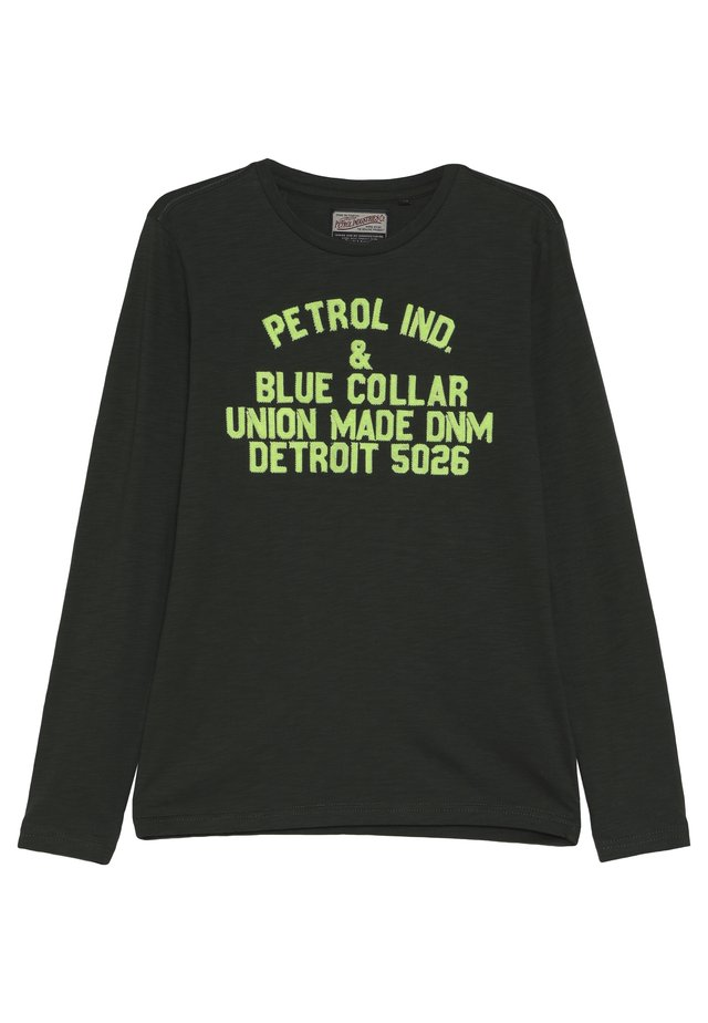 Longsleeve - worker green