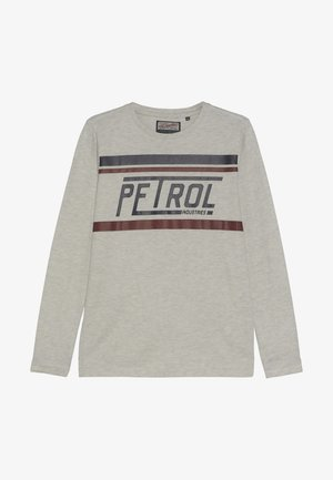 Long sleeved top - antique white melee