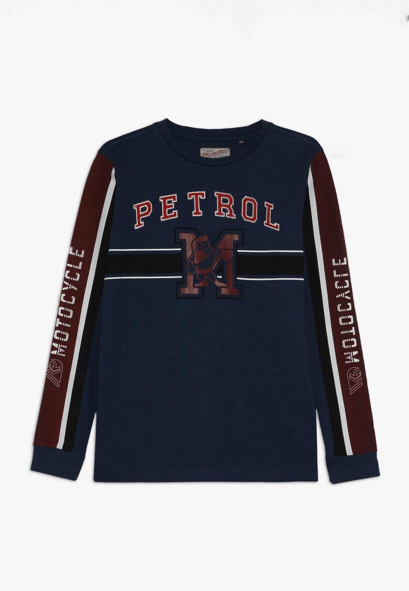 Petrol Industries - Pitkähihainen paita - petrol blue