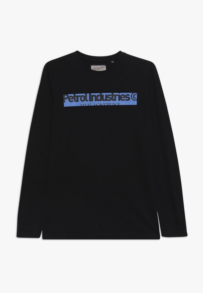 Petrol Industries - Camiseta de manga larga - black