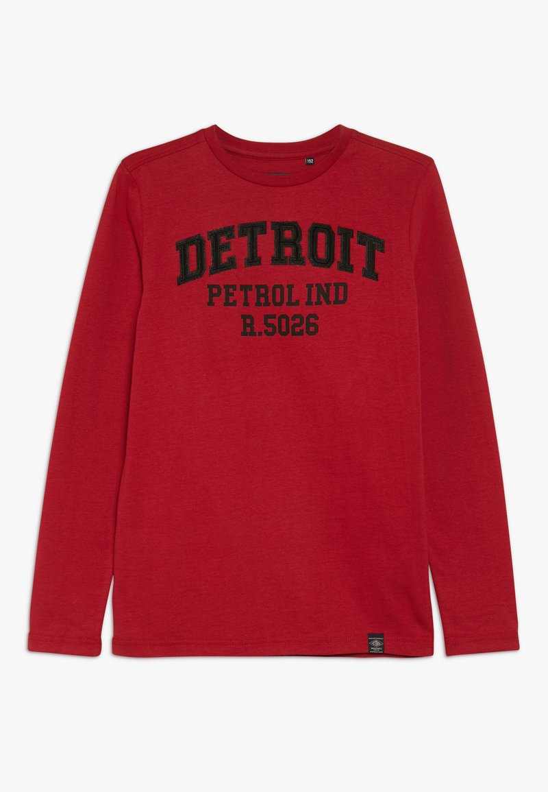 Petrol Industries - Camiseta de manga larga - fire red