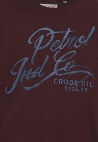 Petrol Industries - T-shirt à manches longues - burgundy - 3